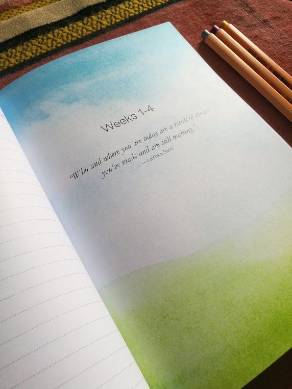 Evolve & Emerge Reflection Journal - inside